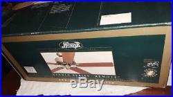 Hunter Original Ceiling Fan With Three Light Kit