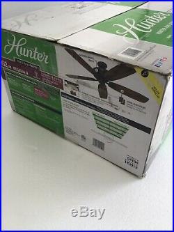 Hunter Regalia II 60-in Bronze LED Indoor Ceiling Fan Light Kit 54194 READ #8