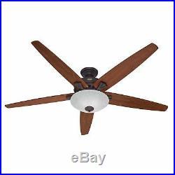 Hunter Stockbridge 70 Indoor Ceiling Fan 5 Reversible Blades and Light Kit