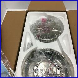 Kichler 52in Ceiling Fan Starkk 75W Halogen Light Kit Polished Nickel 300173PN
