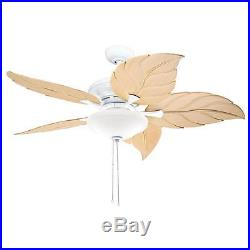 Kichler Lighting Casual White 52 inch Ceiling Fan with 2-light Kit