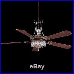 Minka Aire Crystal Draping Set for Cristafano Chandelier Ceiling Fan