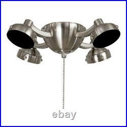 Minka Aire Universal 11 3/4 LED Light Kit, Brushed Nickel K34L-BN
