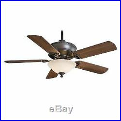 MinkaAire F620-ORB 5 Blade 52 Ceiling Fan Light Kit, Remote Control and Blade