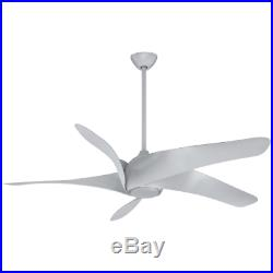 MinkaAire F905L-DK 5 Blade 62 Indoor Ceiling Fan WithBlades &-Light Kit Included