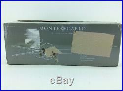 Monte Carlo 5DIC52BKD Discus Classic 52 Ceiling Fan Light Kit, Matte Black