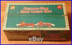 NEW Alvin the Chipmunks and Chipettes Ceiling Fan and Light Kit ULTRA RARE 1990