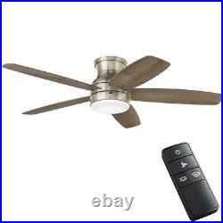 NEW! Ashby Park 52 in. Brushed Nickel Ceiling Fan with Light Kit and Remote