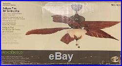 NEW Hampton Bay Antigua Plus Oil Rubbed Bronze 56 Ceiling Fan with Light Kit