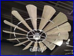 NEW Quorum 60 Windmill Ceiling Fan Farmhouse Industrial Light Kits Available