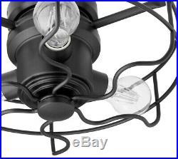 NOIR (BLACK) CAGE LIGHT KIT BY QUORUM Both In Stock! LIGHT KIT ONLY