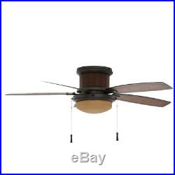 New Ceiling Fan with LED Light Kit 48 inch Indoor/Outdoor Hampton Bay