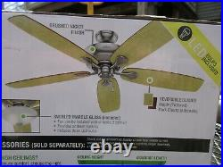 New, Regalia II 60-in Brushed Nickel LED Indoor Ceiling Fan with Light Kit