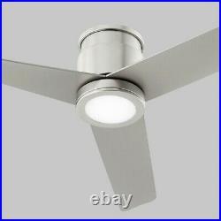 Oxygen Lighting Adora 1 Light Ceiling Fan LED Kit, Nickel/White 3-9-110-24