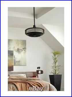Progress Lighting Sanford Integrated LED Ceiling Fan Bronze With Light Kit NEW