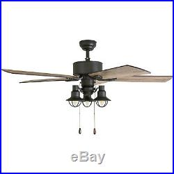 Prominence Home Sivan Sivan 52 5 Blade Indoor Ceiling Fan with Light Kit Includ
