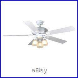 Quiet Outdoor/Indoor 60 Large Great Ceiling Fan Patio Classic Office Light Kit