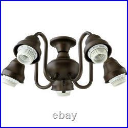 Quorum 5 Light, Light Kit, Oiled Bronze 2530-8086