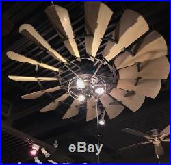 Quorum 72 Windmill Indoor Ceiling Fan- Light Kit Options Now Available