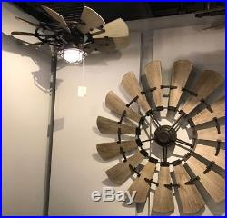 Quorum OUTDOOR WINDMILL Ceiling Fan 72 Light Kits Now Available