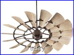 Quorum Windmill INDOOR Ceiling Fan 60 Light Kit Options Available