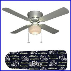 Seattle Seahawks Ceiling Fan withLight Kit or Blades Only or Ceiling Lamp