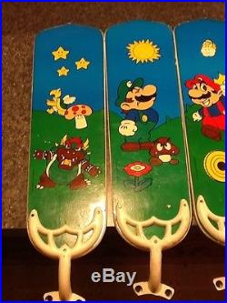 Vintage Nintendo Super Mario Bros Ceiling Fan Light Kit RARE vintage Nintendo