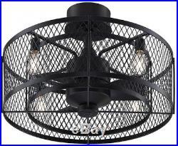 Vintere 20-in Aged Bronze Indoor/Outdoor Ceiling Fan Light Kit Remote 3-Blade