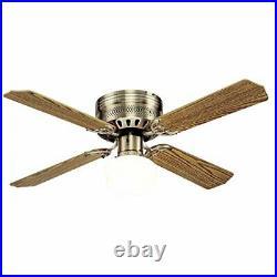 Westinghouse 7213600 Casanova Supreme 42 Antique Brass Ceiling Fan, Light Kit