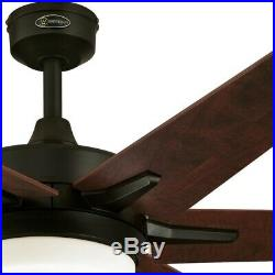 Westinghouse Cayuga 60 in. LED Oil Rubbed Bronze Ceiling Fan 6 Blades Light Kit