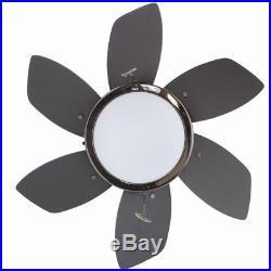 Westinghouse Ceiling Fan 24in. Indoor Gun Metal 6-Blade Light Kit Small Room