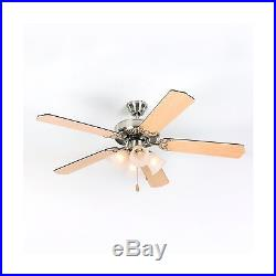 Yosemite Home Decor WESTFIELD-BBN-4 52-Inch Ceiling Fan with Light Kit and Sa